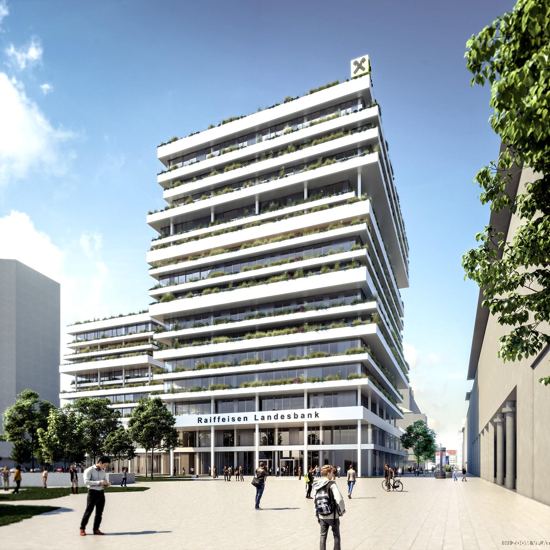 Raiffeisenlandesbank Oberösterreich Zentrale Linz